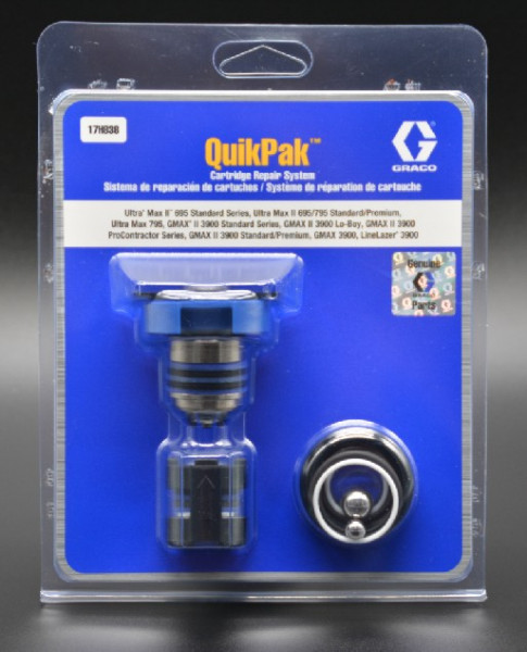 WBV24 - Graco QuikPak Reparaturset 17H838