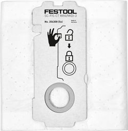 WBV24 - Festool SELFCLEAN Filtersack SC-FIS-CT MINI/MIDI-2/5/CT15 - 204308