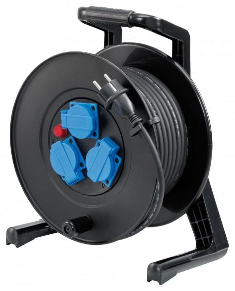Storch Kabeltrommel 25m Gummikabel H07RN-F 3G 1,5 mm² 60 02 50