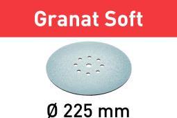 Festool Schleifscheibe STF D225 P180 GR S/25 Granat Soft 204225