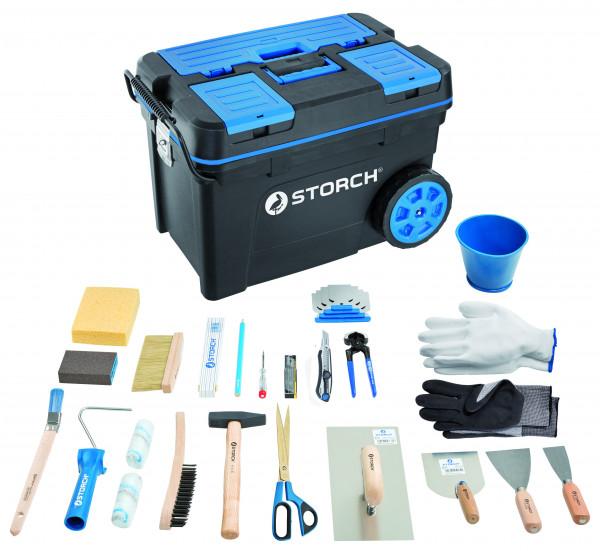 Storch Azubi-Starter-Set im Werkzeugtrolley 291025