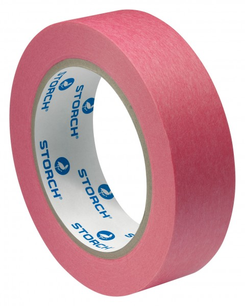 WBV24 - Storch Papier-Abklebeband Rot 19 mm/50 m 49 32 19