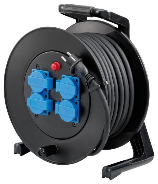 Storch Kabeltrommel 25m Gummikabel H07RN-F 3G 2,5 mm² 60 02 55
