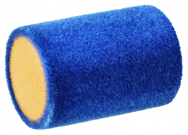 Storch Flockwalze 5 cm Ø35 AquaSTAR superflock gerade blau 156605