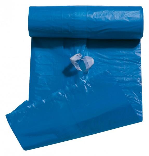 Storch Zuzieh - Abfallsäcke 120 l 25 Stück/ Rolle, HDPE, 0,025 mm stark.