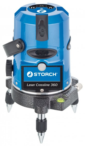Storch Strich-Laser Crossline 360 magnet. selbstnivellieren 44 15 20