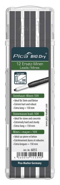 Pica 6055 BIG DRY Ersatzminen SET 12x Steinhauer-Minen