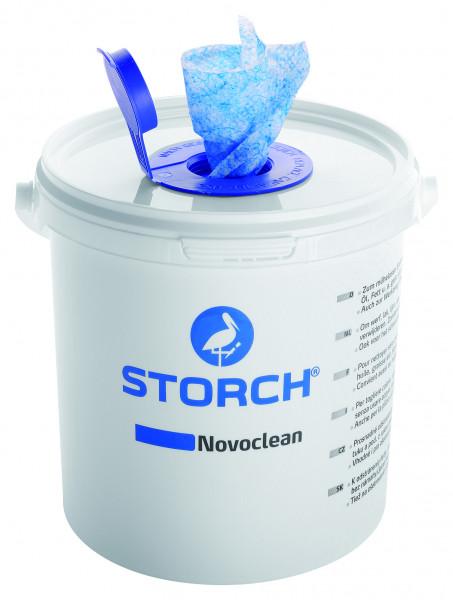 WBV24 - Storch Reinigungstücher Novoclean feucht im Spender 510100
