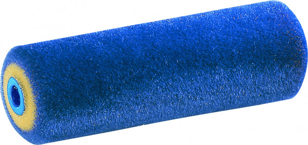 WBV24 - Storch Flockwalze 11cm Ø35 AquaSTAR superflock innen rund blau 156614