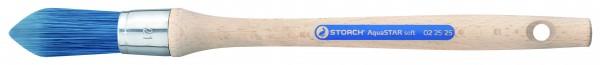 Storch Kapsel-Pinsel AquaSTAR soft blau spitz Nickel