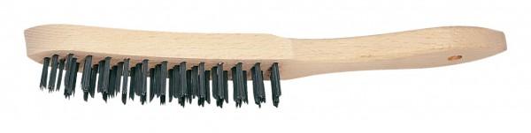 Storch Stahl-Drahtbürste 4-reihig 43 22 04