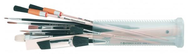 WBV24 - Storch Azubi-Pinsel-Set im Kunststoffköcher 050000